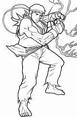 Ryu Coloring Fighter Street Lineart Tenebrae Angelus Drawings Template Popular Deviantart Os Mystuff sketch template