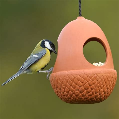 acorn bird feeder weston mill pottery uk