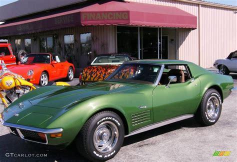 1972 Elkhart Green Chevrolet Corvette Stingray Coupe