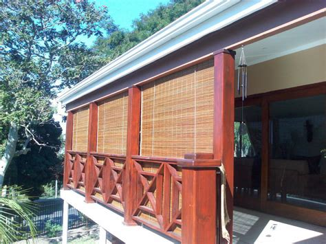 outdoor roll up porch shades window treatments design ideas
