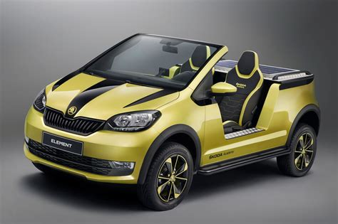 yellow lamborghini skoda element concept proves czech students are full of