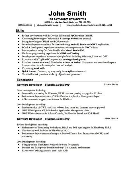 student sample resume  university application finder jobs