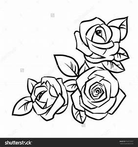 simple rose outline drawing - Google Search | Tattoos ...