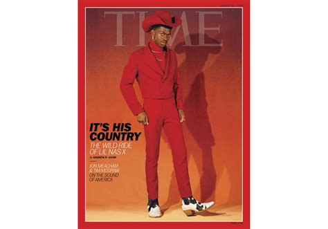 lil nas  graces cover  time magazine representing hip