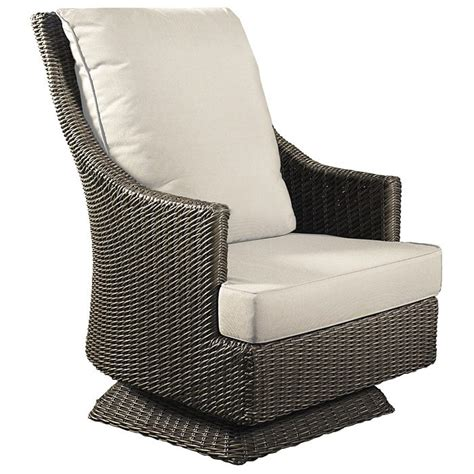 outdoor cabana swivel rocking chair  weather wicker