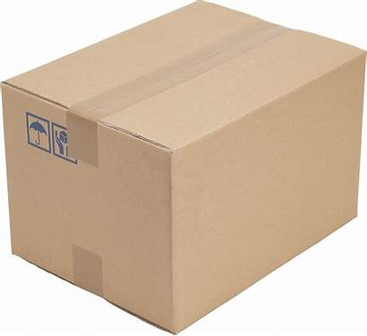 Box Corrugated Brown Paper Cases Pngimg Kraft