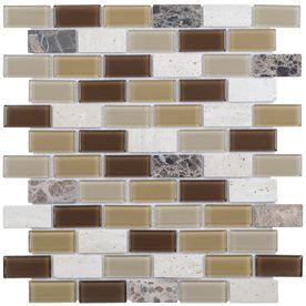 Elida Tile Home Depot by Elida Ceramica 12 In X 12 In Glass Mosaic