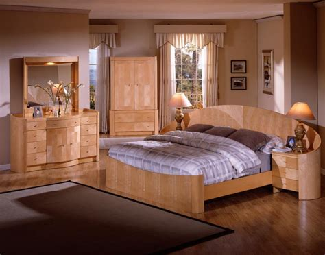 natural pine bedroom furniture   interior