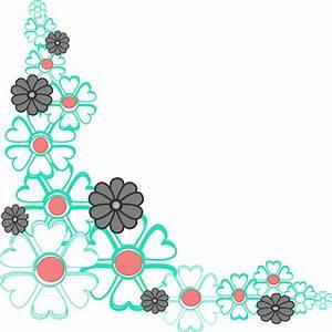 Floral Corner Clip Art at Clker.com - vector clip art ...
