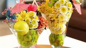 Basteln Für Den Sommer : deko f r den sommer aus chrysanthemen basteln ~ Buech-reservation.com Haus und Dekorationen