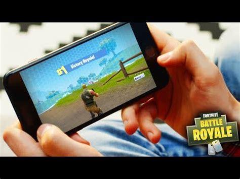 fortnite mobile gameplay  fortnite mobile codes
