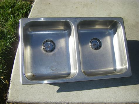 used kitchen sinks stainless steel used 70 s stainless steel kitchen sink 9558