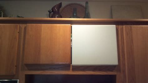 kitchen cabinet doors with rounded edges 12 month challenge oak kitchen cabinets slab panel doors