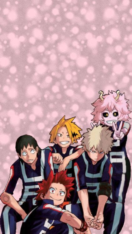 bakusquad wallpapers  atmha  marvel hero