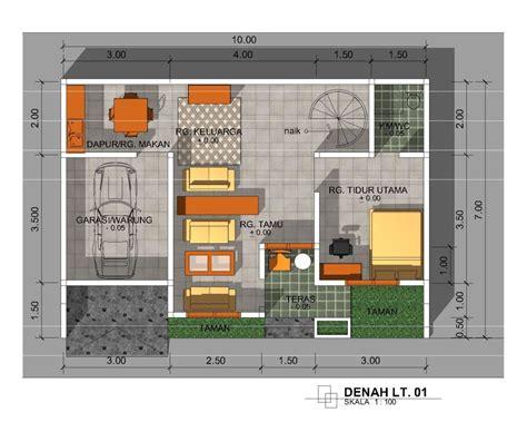 membuat gambar denah rumah minimalis renovasi rumahnet