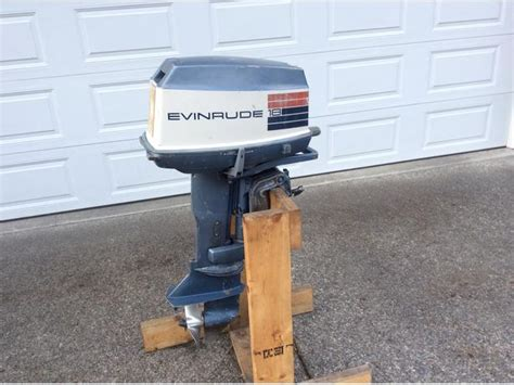 1973 Evinrude 18 Hp. West Shore