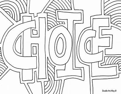 Coloring Word Wisdom Pages Cool Printable Getcolorings