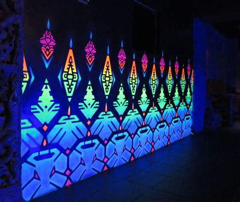 xavi at temple sf uv black light murals psy decor uv