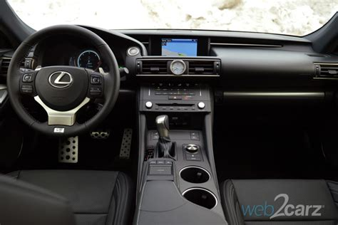 lexus rc   sport review webcarz