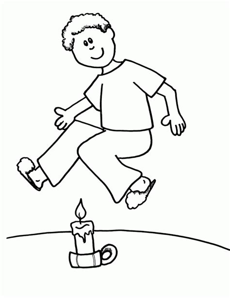 outline   person coloring page coloring home