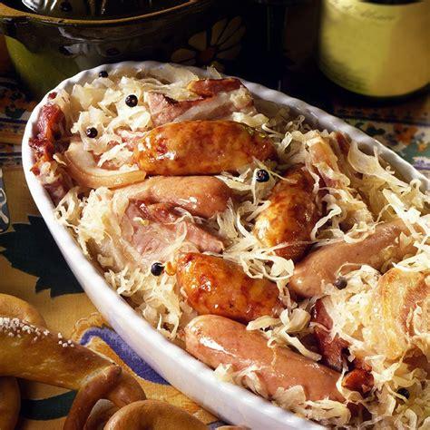 cuisine colmar recette la choucroute de colmar
