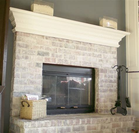 how to update a brick fireplace 7 steps to whitewashing your brick fireplace