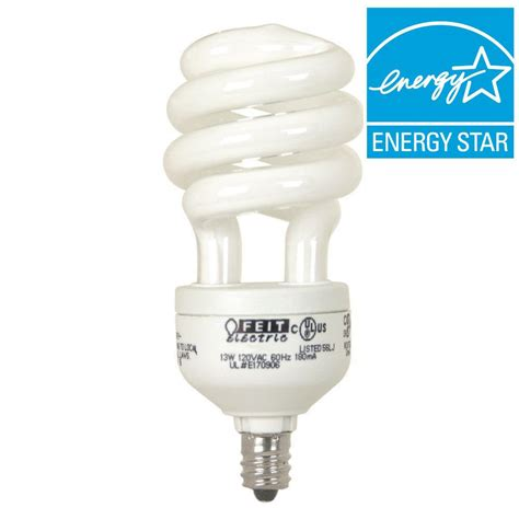 ecosmart 60w equivalent soft white candelabra base spiral