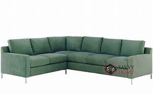 Soho fabric sleeper sofas true sectional by lazar for Soho sofa bed