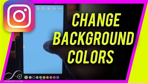 change background color  instagram story youtube
