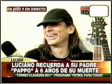 Luciano napolitano, hijo del conocido músico pappo. Hijo de Pappo en Cronica Tv - YouTube