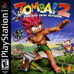 Tomba 2 The Evil Swine Return Sony Playstation