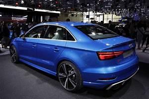 Audi A3 Berline 2016 : top des sportives du mondial de l 39 automobile 2016 audi rs3 berline l 39 argus ~ Gottalentnigeria.com Avis de Voitures
