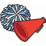 Pom Poms Vector Clip Cheerleading Icon Illustrations