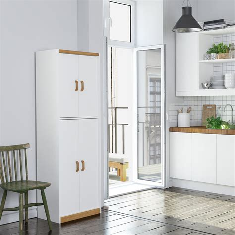ameriwood furniture hannah  kitchen pantry cabinet white