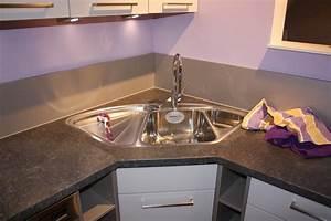 Nolte musterkuche moderne u kuche mit eckspule for Küche mit eckspüle
