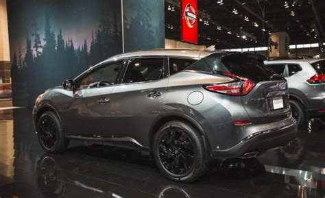 2018 Nissan Murano Midnight Package Release Date And Price