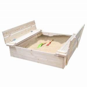 Bac à Sable Castorama : bac sable avec bancs rabattables en bois castorama ~ Dailycaller-alerts.com Idées de Décoration