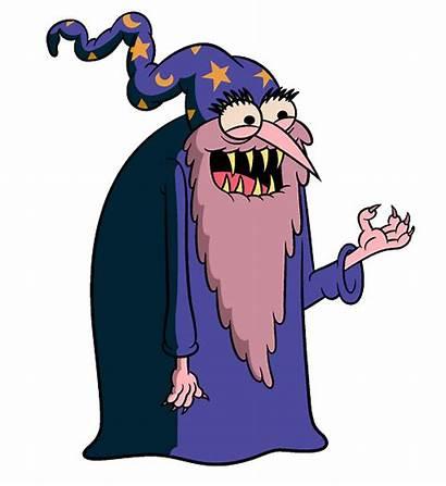 Wizard Clipart Evil Grandpa Uncle Transparent Mago