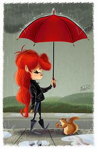 Rainy Day by happydoodle on DeviantArt