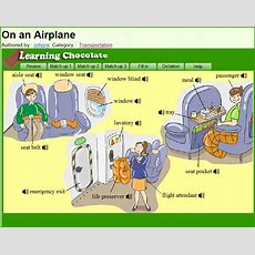On An Airplane  Vocabulary Activities  English In Vancouver