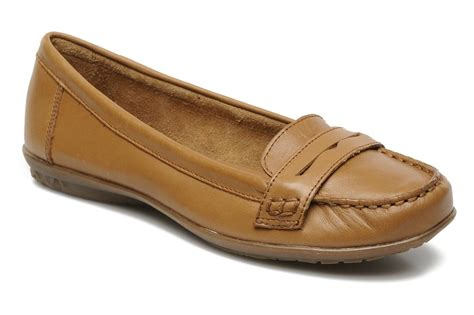 hush puppies ceil penny loafers in brown at sarenza co uk
