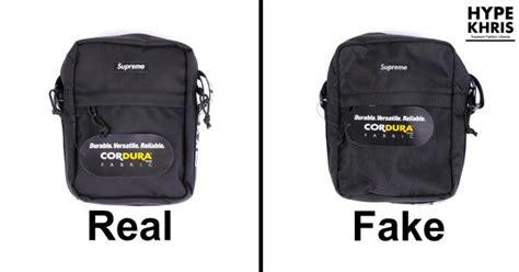 supreme shoulder bag black real  fake nar media kit