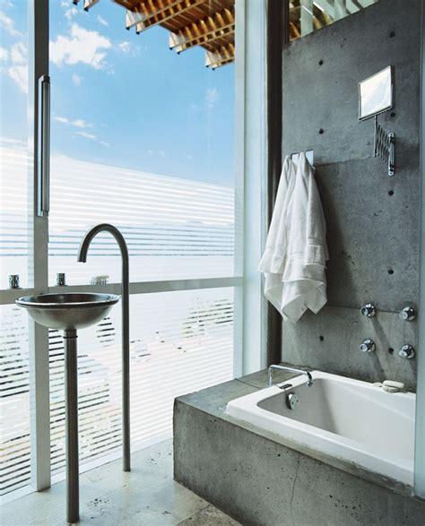 Badezimmer Modern Beton by Wohnideen Fuer Badezimmer Modern Beton Optik Grau Wand