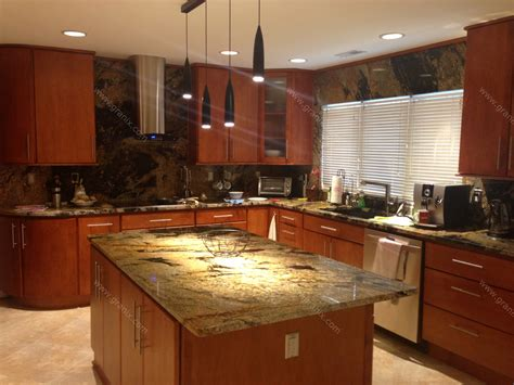 kitchen backsplashes with granite countertops val d desert granite kitchen countertop island