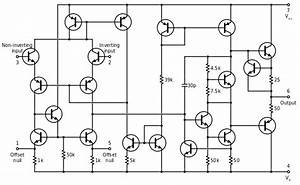 File 741 Op-amp Schematic Svg