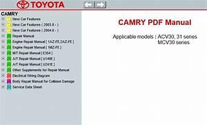 Bestseller  Toyota Camry Repair Manual Pdf