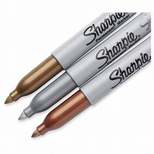 Sharpie® Permanent Markers, Fine Tip, 3ct - Multicolor Ink ...