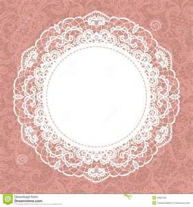 rustic wedding scrapbook doily on lace gentle background royalty free stock