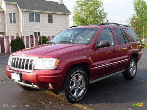 2004 inferno pearl jeep grand overland 4x4