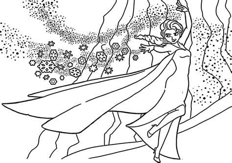 Ausmalbilder Von Elsa : Ausmalbilder Gratis Anna Und Elsa